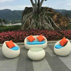 Best China manufacture outdoor garden furnitures indoor rattan chair sets wholesale