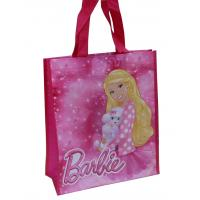 China 105Gsm Big Capacity Reusable Carrier Bags Non Woven For Lady Shopping wholesale