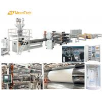 Best 450 - 750 Kg/Hour Capacity Plastic Sheet Extrusion Machine / Acrylic Sheet Making Machine wholesale