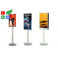 Best Freestanding Pole Trade Show Displays Snap Frame Durable Portable Sign Stands wholesale