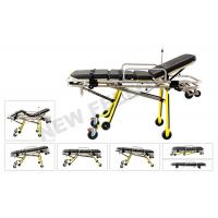 China Multifunctional Automatic Loading Aluminum Alloy Ambulance Stretcher For Rescue Patients on sale