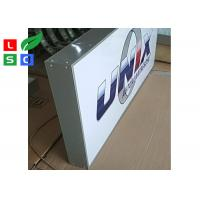 China Custom Outdoor Light Box Signle Sided LED Front Sign For Branding on sale