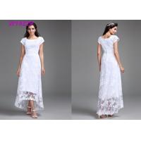China Polyester Slim Traditional Wedding Gowns / Brand Design Spring Wedding Dresses on sale