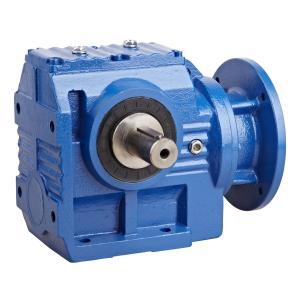 Best S Series Modular Helical Worm Gear Motor , High Speed Worm Gear Reduction Box wholesale