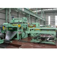 China 0-60m/Min Rotary Shear Cut To Length Line Double Support Uncoiler Hydraulic Pressing on sale