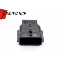 China 0.64(025)mm 12 Pin Male Waterproof Connector Housing 7282-8854-30 on sale