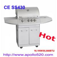 China Hot Summer BBQ Gas Grill 4burner on sale