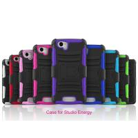 Best Blu Studio Energy D810 Plastic Hard cell phone cases with stand function wholesale
