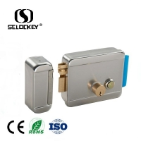 China Smart Security Lock CE 12V Electric Rim Door Locks on sale