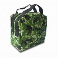 China Camouflage PVC Promotional Cosmetic Bag, Measuring 22 x 21 x 12.5cm on sale