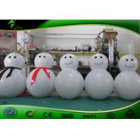 Best Outdoor Lovely Decoration LED Inflatable Santa Claus / Snow Man For Christmas wholesale
