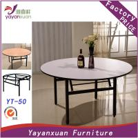 China Large Round Dining Table can Foldable With High Quality(YT-50) on sale