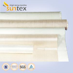 Best Smoke Curtain Woven Fiberglass Cloth Heat Insulation Fireproof  2050 G/M2 wholesale