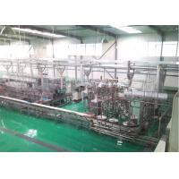 Buy cheap Raw Fresh Milk Processing Machine Turn Key Pasteurized With Plastic Bag product