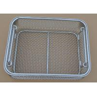 Cheap factory hot sale food grade stainless steel disinfect basket for sale