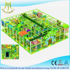 Best Hansel preschool indoor play equipment kids party equipment kids plastic playhouse indoor playground equipment canada wholesale