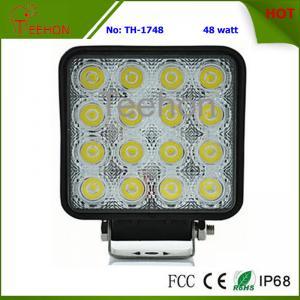 Best 48W Square LED Fog Light, LED Work Light, LED Work Lamp for marine ships, Automotive wholesale