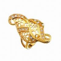 Best Thick Copper Gold-plated Jewelry/Ring wholesale
