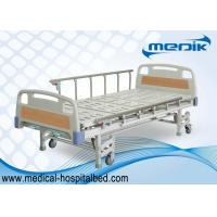 Cheap ISO approved Patient Hospital Beds With Three Crank Multifunction ICU Medical Bed for sale