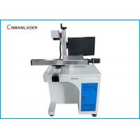 Best Desktop Metal Laser Marking Machine Moving Working Table Raycus Sources wholesale
