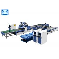 Best Kitchen Cabinet Wooden Door Production Line With Auto Sticker Labeling System wholesale