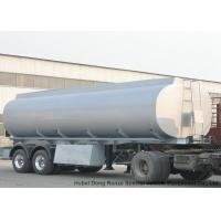 Best 2 Axles Stainless Stee Water Tank Semi Trailer For Health Water Transport  30T- 35Ton wholesale