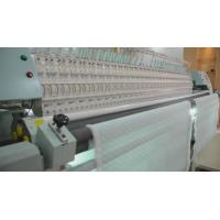 China 34 Heads Quilting And Embroidery Machine , Computerized Quilt Making Machine For Textile on sale
