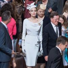 Buy cheap 2018 Angelina Jolie Same Elegant White Dress Split Celebrity High Quality Women from wholesalers