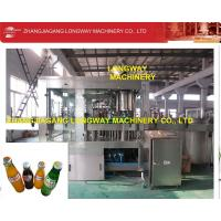 China Reliable Manufacturer Automatic Glass Bottle Soda Beverage Machine on sale