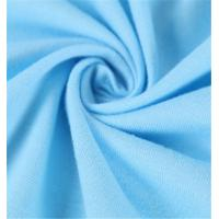 China Plain Dyed Cotton Jersey Material , 100 Cotton Jersey Knit Fabric Anti Bacterial on sale
