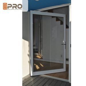 China Customized Size Aluminum Glass Pivot Entry Door / Center Pivot Door front door pivot door aluminum pivot front door on sale