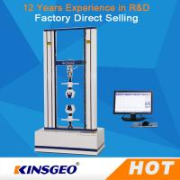 Best 50~500mm/min 100KN Material Leather Testing Machine With Double Column 180kg wholesale