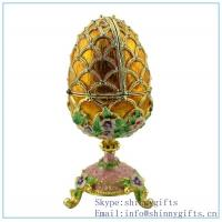 Best Gold Royal Egg Trinket Box on Sale wholesale