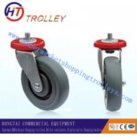 Best 5 TPR Thickest Shopping Trolley Spare Parts Ground Universal Castor wholesale