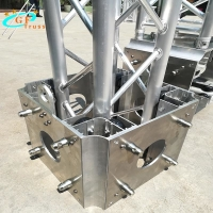 Best Customized Exhibition Aluminum Spigot Truss Sleeve Block For 290mm*290mm wholesale