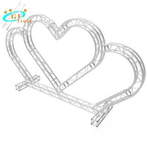 Best TUV Goal Post Truss Stage Lighting Heart Shape For Wedding wholesale