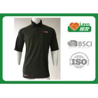 Best Comfortable Quick Dry Shirts Moisture Wicking Polo Shirts For Hiking / Sports wholesale