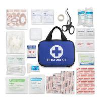 China Private Label Portable Medical Kit 600D Waterproof Polyester Material on sale
