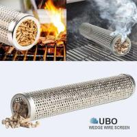 Best 12 Inches Round BBQ Smoking Tubes wholesale