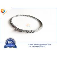 China Flat Tungsten Rhenium Wire , High Temperature Thermocouple Wire Wre3/25 on sale