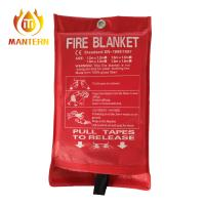 China Emergency Fire Fighting Equipment Fire Safe Resistant Blanket 1.8x1.8m EN1869 Standard on sale