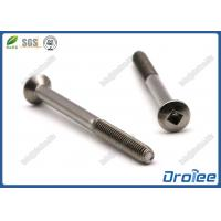 Best Stainless Steel 304/410 Square Drive Oval Head Taptite Thread Forming Screws wholesale