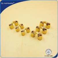Best Cylindrical 10mm Brass Concealed Hinges 180 Opening Angle Multi Length Acceptable wholesale