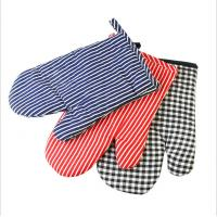 Best Safety Durable  Printed Oven Mitts Everyday Use Fashionable  For BBQ Cooking wholesale