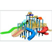 Best Outdoor Water Games Amusement Park Aquatic Play Structures For Children, Kids Play wholesale