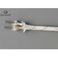 China 1000℃ KX-VS-VS-0.81 Vitreous Silica Insulated Thermocouple Cable Type K Wire on sale