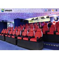 Best Deft Novel Motion 5D Theater Equipment With 12 Special Effects CE ISO9001 wholesale