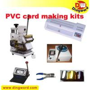 Best PVC card making full package, Embosser, Hot stamping tipper wholesale