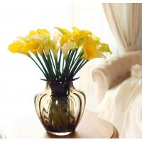 Best artificial real touch calla lily pu material calla lily wholesale