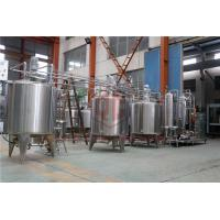 China Compact Single Beer Canning Machine / Automatic Bottle Filling System on sale
